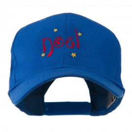 Christmas Noel with Stars Embroidered Cap