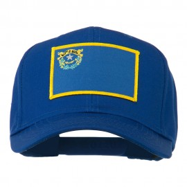 State of Nevada Embroidered Patch Cap