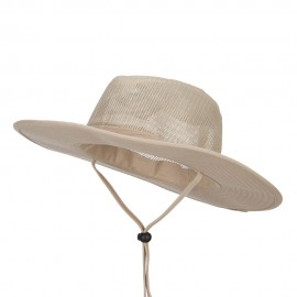 Men's Mesh Cotton Safari Hat