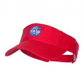 NASA Insignia Embroidered Cotton Washed Visor