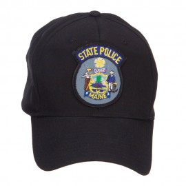 Maine State Police Patch Cap