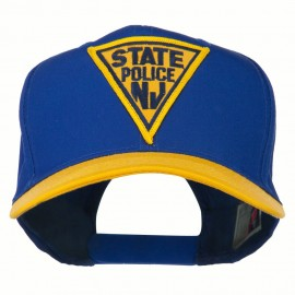 New Jersey State Police Patched Cap
