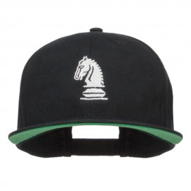 Chess Knight Embroidered Extra Size High Cap