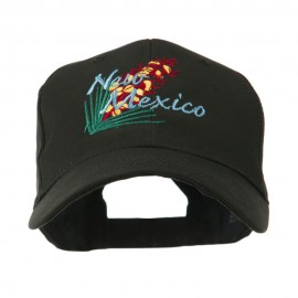 USA State Flower New Mexico Yucca Embroidered Cap