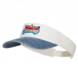 Canoeing Patched Washed Dyed Visor