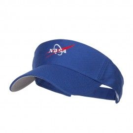 NASA Logo Embroidered Sports Visor