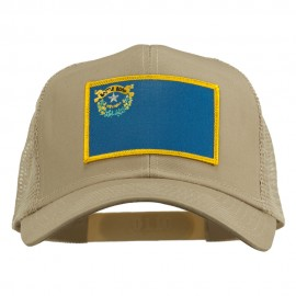 Nevada State Flag Patched Mesh Cap