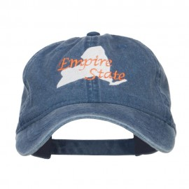 New York Empire State Embroidered Cap
