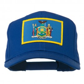 State of New York Embroidered Patch Cap - Royal