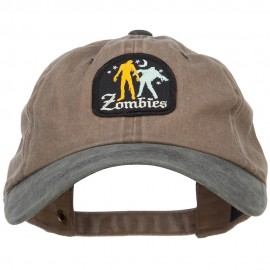 Halloween Nigh Zombie Patched Unstructured Cap