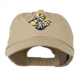Oval Celtic Embroidered Cap
