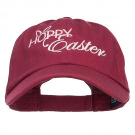Hoppy Easter Embroidered Low Cap