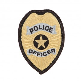 Police Officer Service Patches