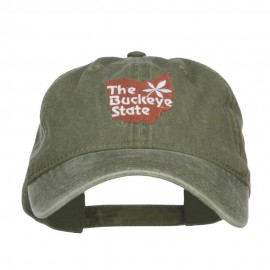 Ohio Buckeye State Embroidered Cap