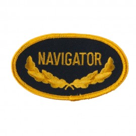 Oak Leaf Embroidered Military Patch - Navigator