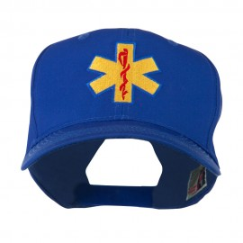 Star of Life Embroidered Cap