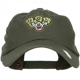 Boo Ghost Patched Unstructured Cap