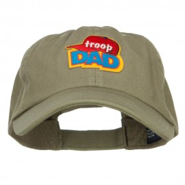 Troop Dad Patched Low Pet Spun Cap