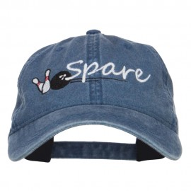 Bowling Spare Embroidered Washed Cap