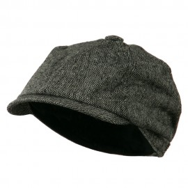 Poor Boy Short Brim Newsboy Cap