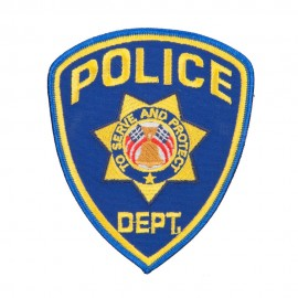 Police Department Service Patches