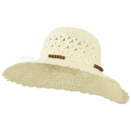 Women's Scallop Edge Crushable Hat