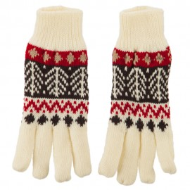 Combo Pine Fleece Lining Ladies Gloves