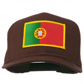 Europe Portugal Flag Patched Cap