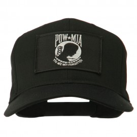 Pow Mia Flag Military Patch Cap