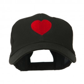 Party Heart Logo Embroidery Cap - Black