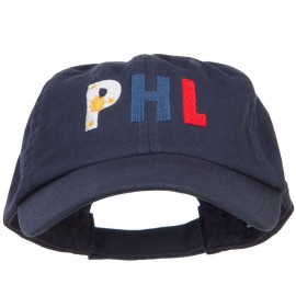 Philippines PHL Flag Embroidered Low Profile Cap