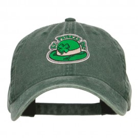St Patrick's Day Hat Patched Washed Cap