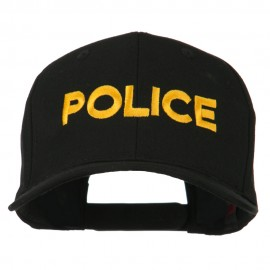 Police Letter Embroidered High Profile Cap