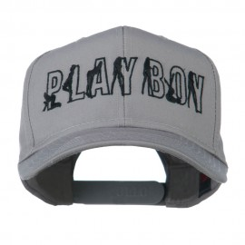 Playboy Embroidered Cap - Grey