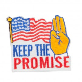 USA Keep the Promise Patches
