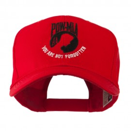 Pow Mia Symbol with Wording Embroidered Cap
