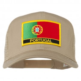 Portugal Country Patched Mesh Back Cap