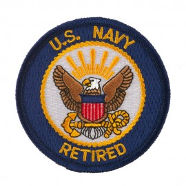 Assorted Navy Logo Patches