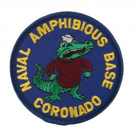 Assorted Navy Logo Patches - Naval Amphibious