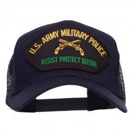 US Army Military Police Patched Mesh Cap