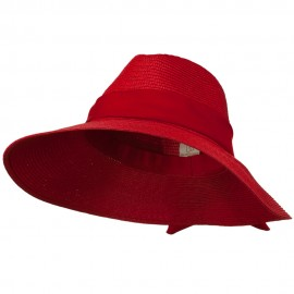Polypropylene Braid Panama Hat
