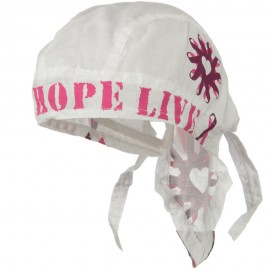 Pink Ribbon Headwrap - Love Hope Live