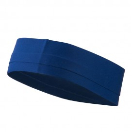 Pleated Slip Over Hat Band