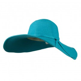 Woman's UPF 50+ Paper Straw Wide Brim Hat