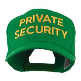 Private Security Embroidered Cap