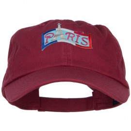 Flag Paris Patched Low Profile Cap