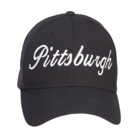 City of Pittsburgh Embroidered Cotton Cap