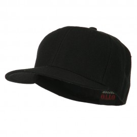 Pro Style Wool Fitted Cap - Black