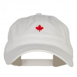 Mini Canada Maple Embroidered Washed Cap