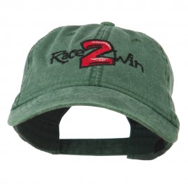Race 2 Win Embroidered Washed Cap